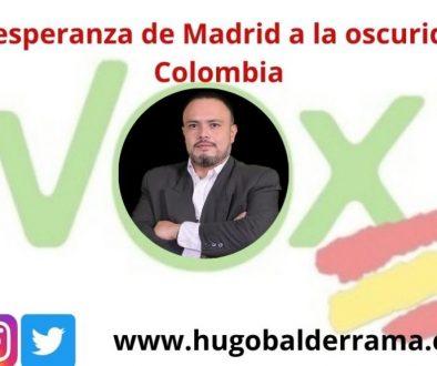 De la esperanza de Madrid a la oscuridad de Colombia
